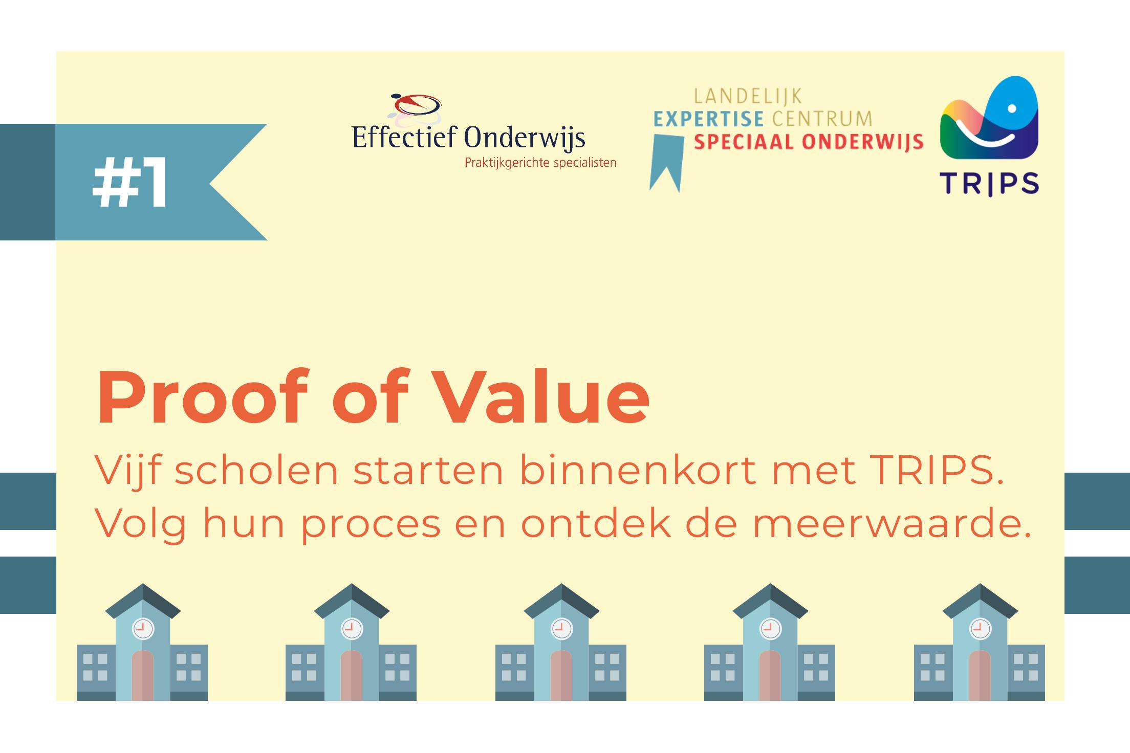 Proof of Value traject van TRIPS in het Speciaal Onderwijs